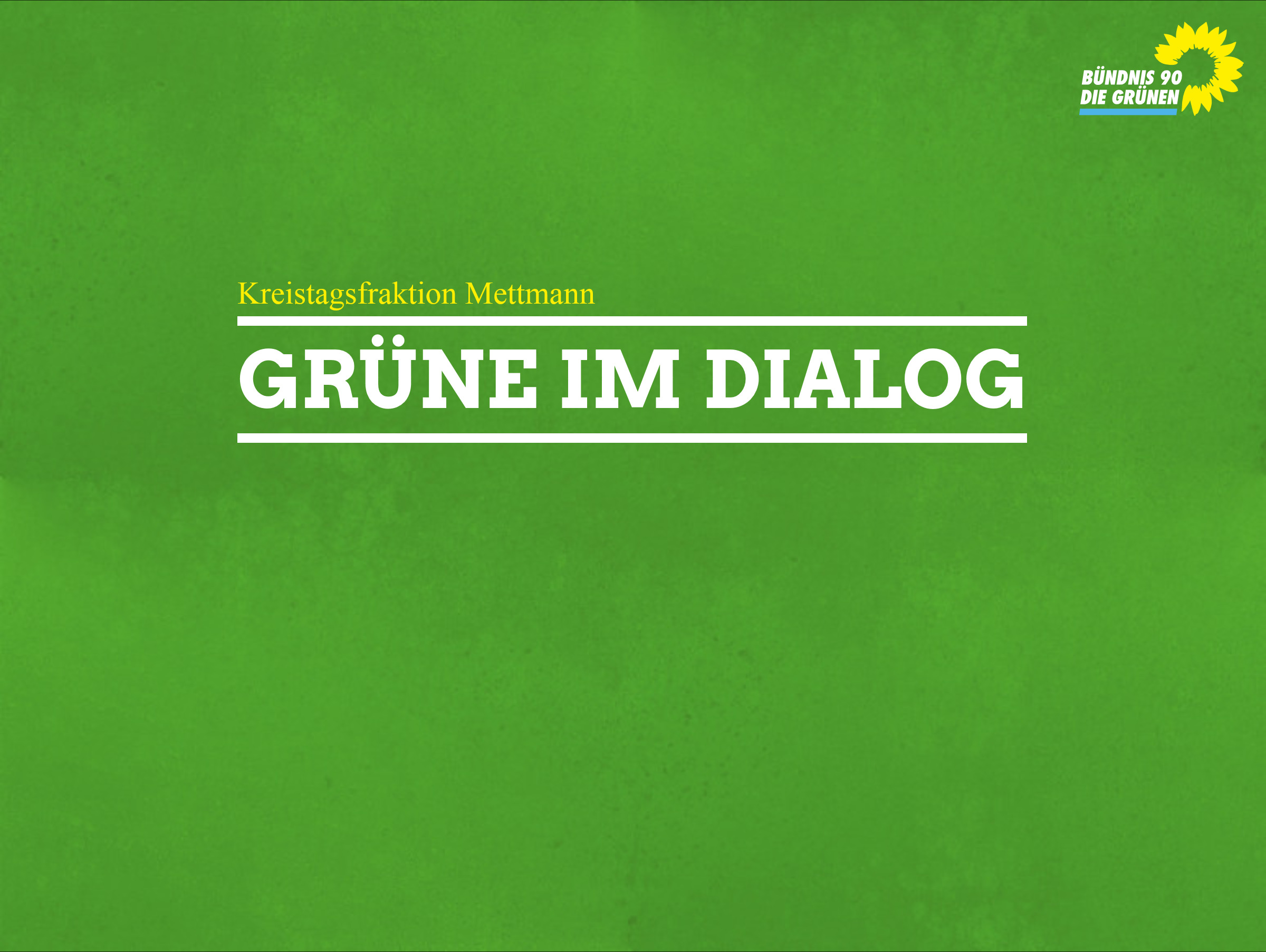 GRÜNE Kreistagsfraktion im Dialog mit UnternehmerKreis ME