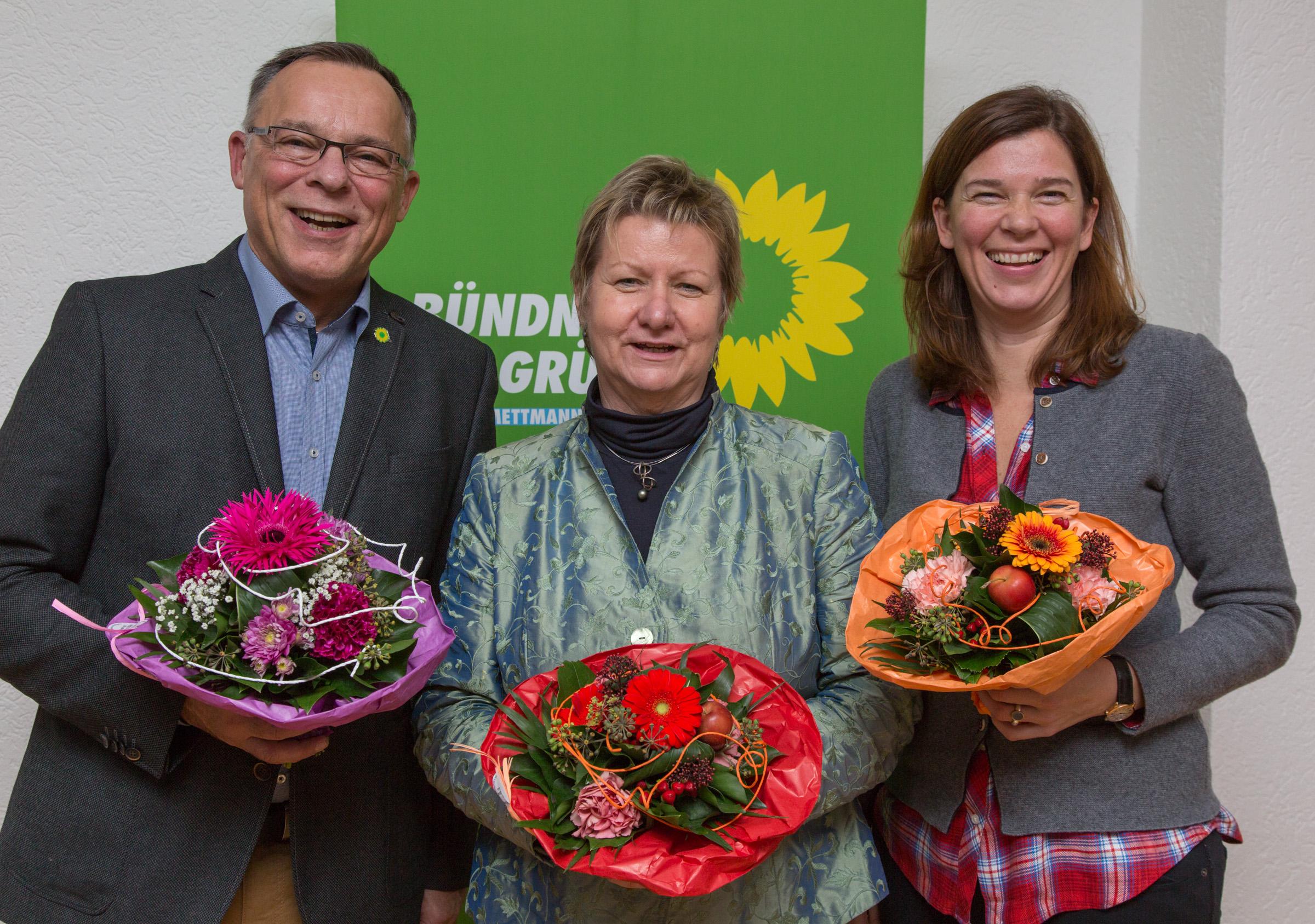 Grüne wählten ihre Direktkandidaten zur Bundestagswahl