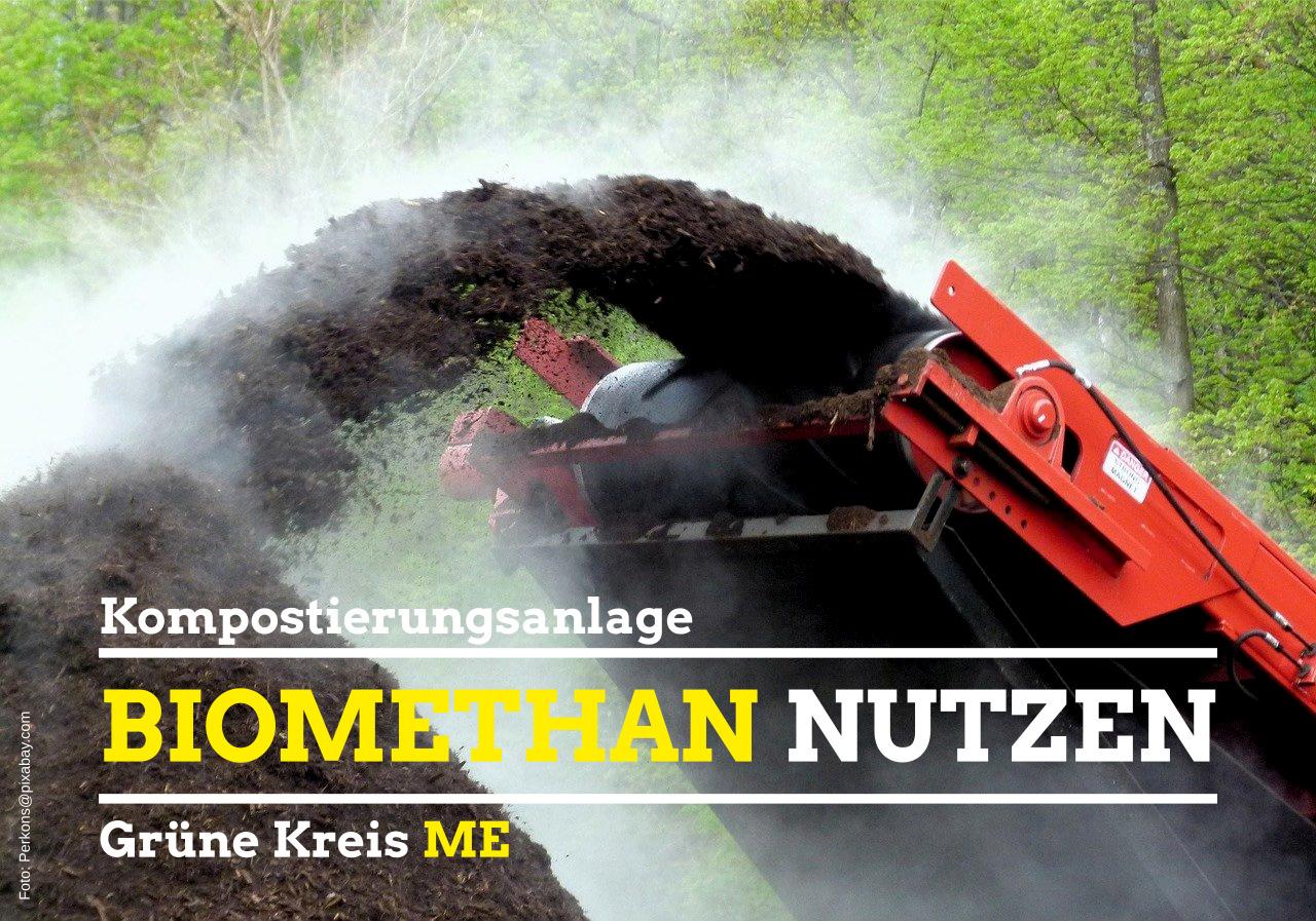 GRÜNE: Biomethangas vor Ort produzieren