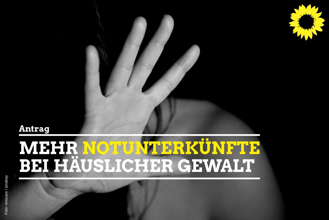 Mehr Notunterkünfte bei häuslicher Gewalt