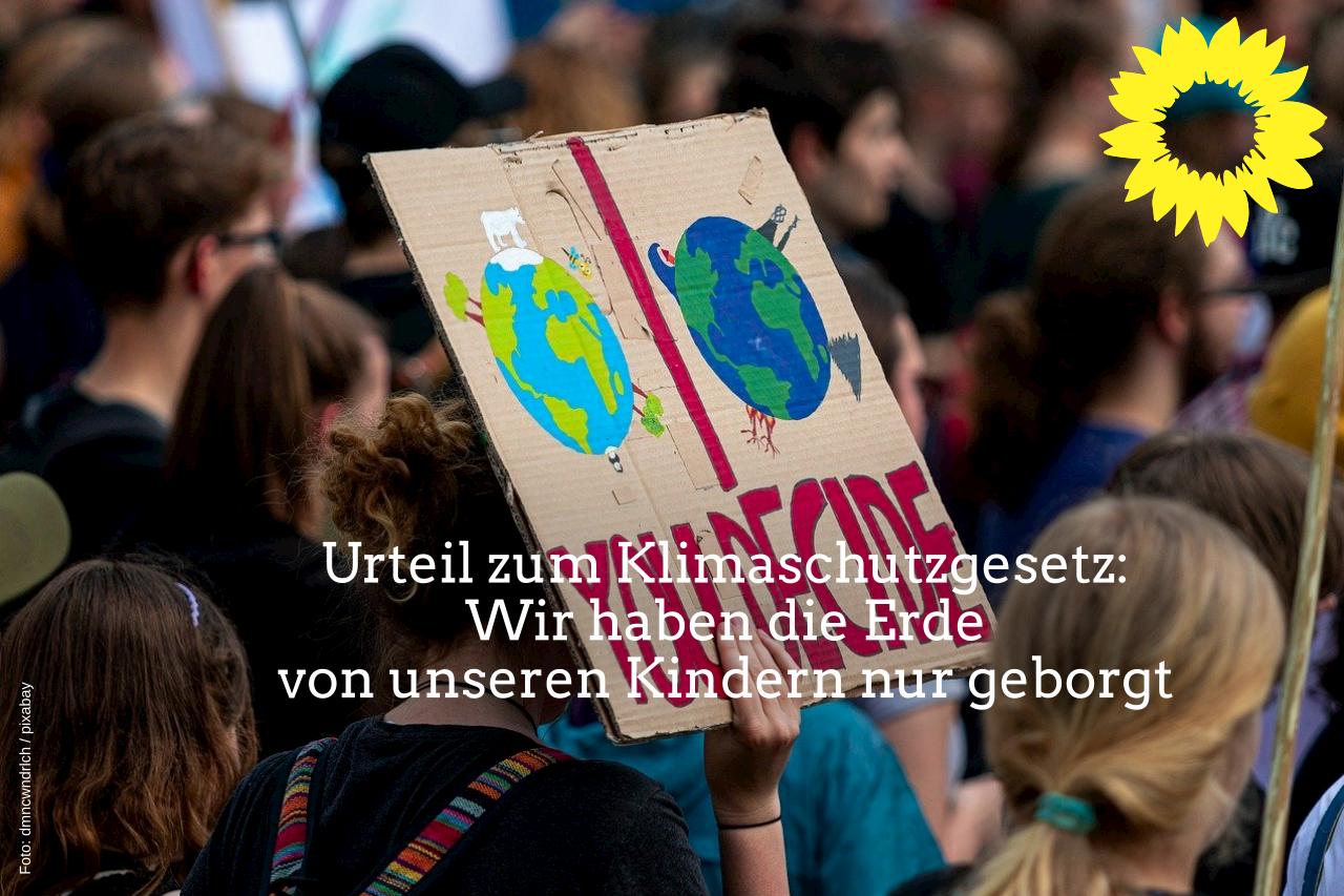 GRÜNE im Kreistag: Urteil zum Klimaschutzgesetz motiviert vor Ort